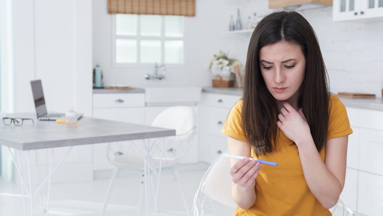 test de sarcina rezultat neclar