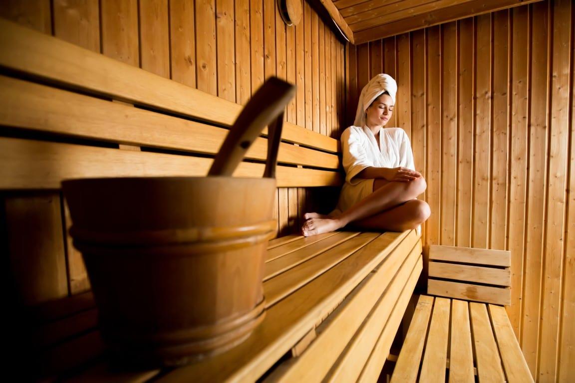 sauna in sarcina