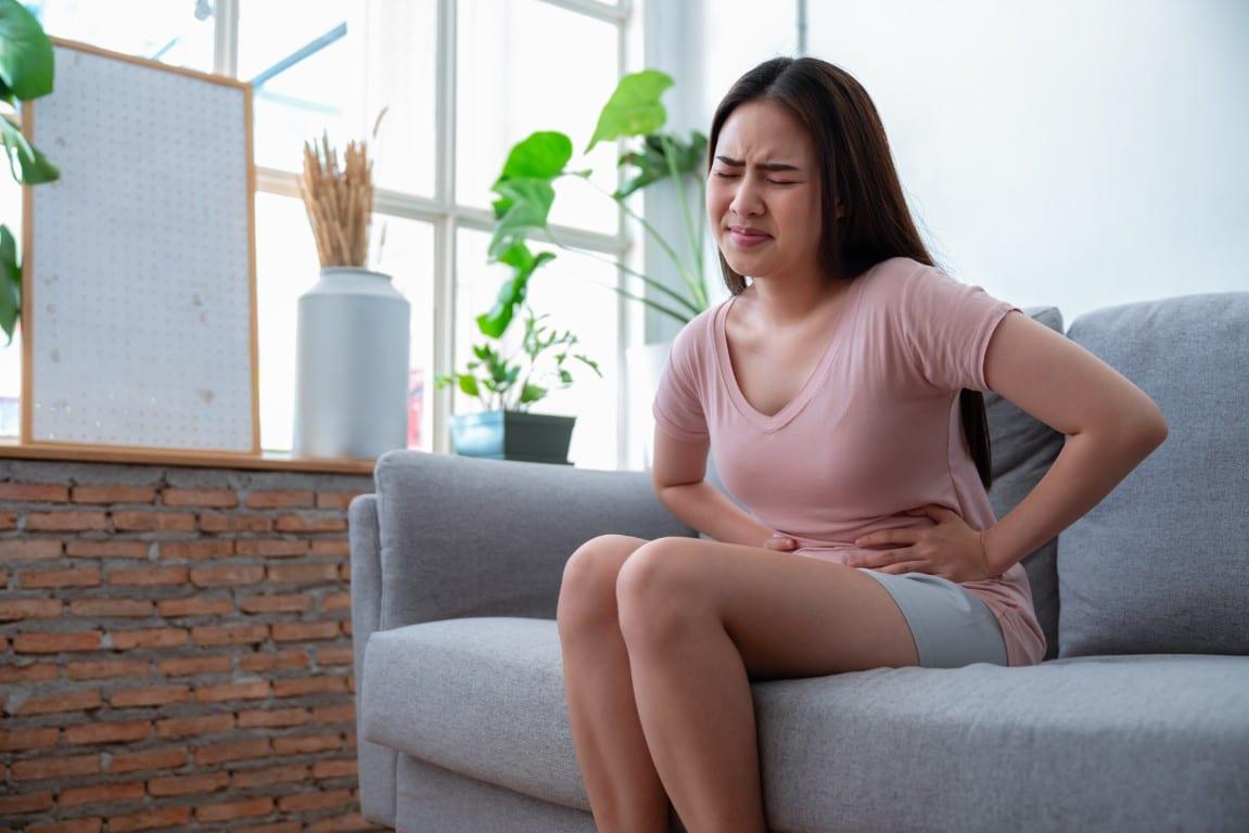 chist ovarian sarcina